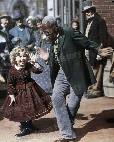 8x10 Print Shirley Temple Bill Bojangles Robinson The Littlest Rebel 1935 #STBR