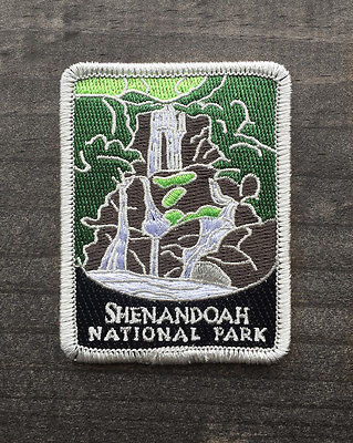 Official Shenandoah National Park Souvenir Patch Traveler Series Virginia