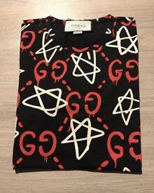 Gucci graffiti tshirt