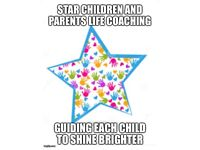 Star Children and Parents Life-coaching-guiding each child to shine brighter