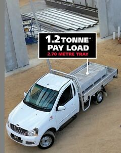 2016 Mahindra Genio 2,700m Tray Back Ute West Tamworth Tamworth City Preview
