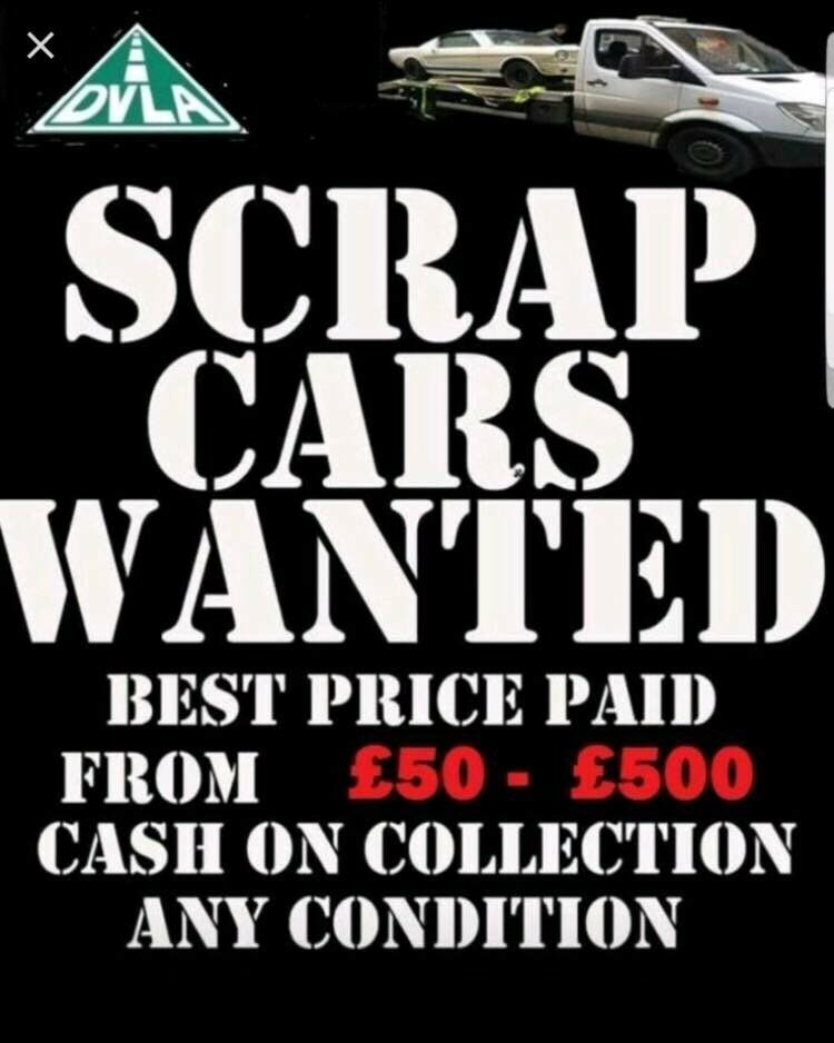 Cash for scrap cars within 1 hour free collection | in Wembley ...
