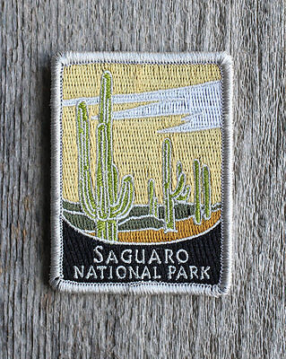 Saguaro National Park Souvenir Patch Traveler Series Iron-on Arizona