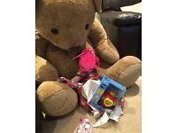 Limited edition xxxxxl teddy bear