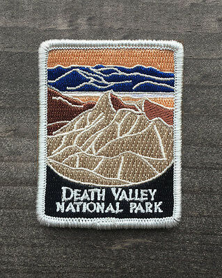 Death Valley National Park Souvenir Patch Traveler Series Iron On California