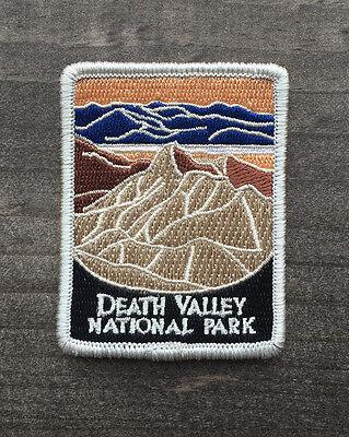 Death Valley National Park Souvenir Patch Traveler Series Iron On California