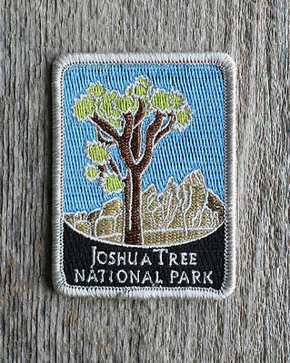 Joshua Tree National Park Souvenir Patch Traveler Series Iron-on California