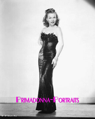 Gale Robbins 8X10 Lab Photo 1940S Sexy  Shimmering Tight Elegant Gown Portrait