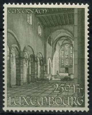 Luxembourg 1953 SG#570, 2f50 Echternach Abbey Restoration Fund MH #D75315