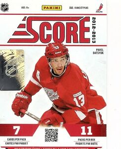 2012-13 Score Hockey  Complete Set 548 Cards - 48 RCs