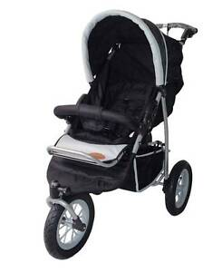 B. New Mamakiddies 3 Wheel Baby Pram Baby Stroller Jogger Buggy Auburn Auburn Area Preview