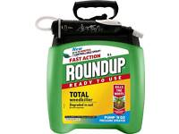Roundup Fast Action Weedkiller Pump n Go Spray 5L