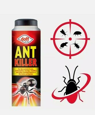 10x Doff Ant Killer Powder Indoor Outdoor Cockroache Beetles Insects bugs garden