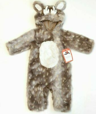 Pottery Barn Kids Woodland Baby Fawn Deer Costume 3T #1608
