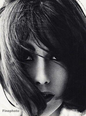 1960s Vintage Fashion FEMALE FACE Woman Retro Hair 16x20 Photo Art WINGATE PAINE