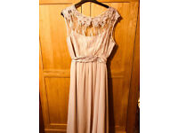 Dusky Pink - Long Evening Gown - Size 26 - For Sale!!!!!!!!!!!!!!!!!!!!!!!!!!!!!!!!!!!!!!!!!!!!!!!!