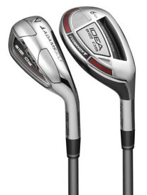 Adams A12 Oversize Game Improvement Graphite Irons/Hybrids Set (New) RRP £500 (6xFree Balls)