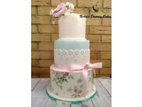 WEDDING CAKES AND CAKE TOPPERS