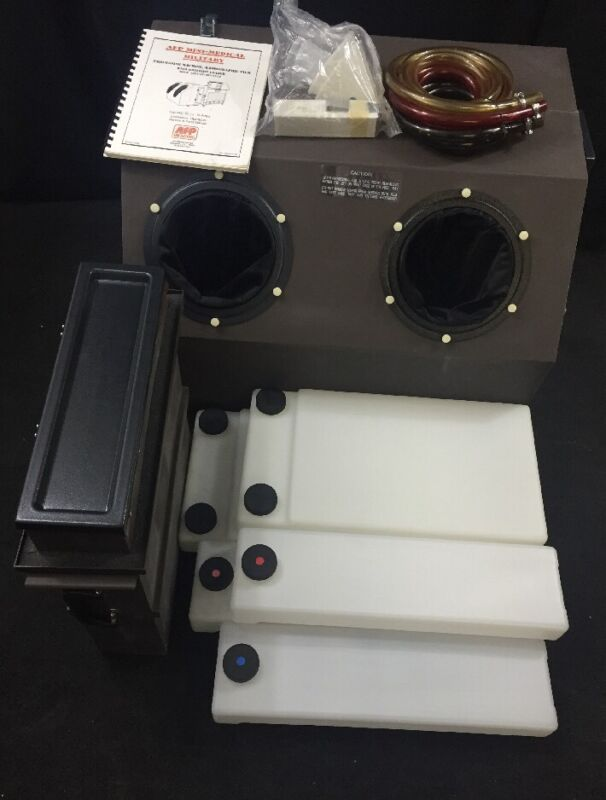 AFP Imaging P/O X-Ray Film Processing Daylight Loader In Case 9992305300