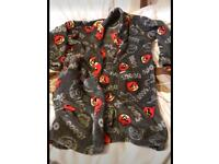 Angry birds dressing gown aged 7-8
