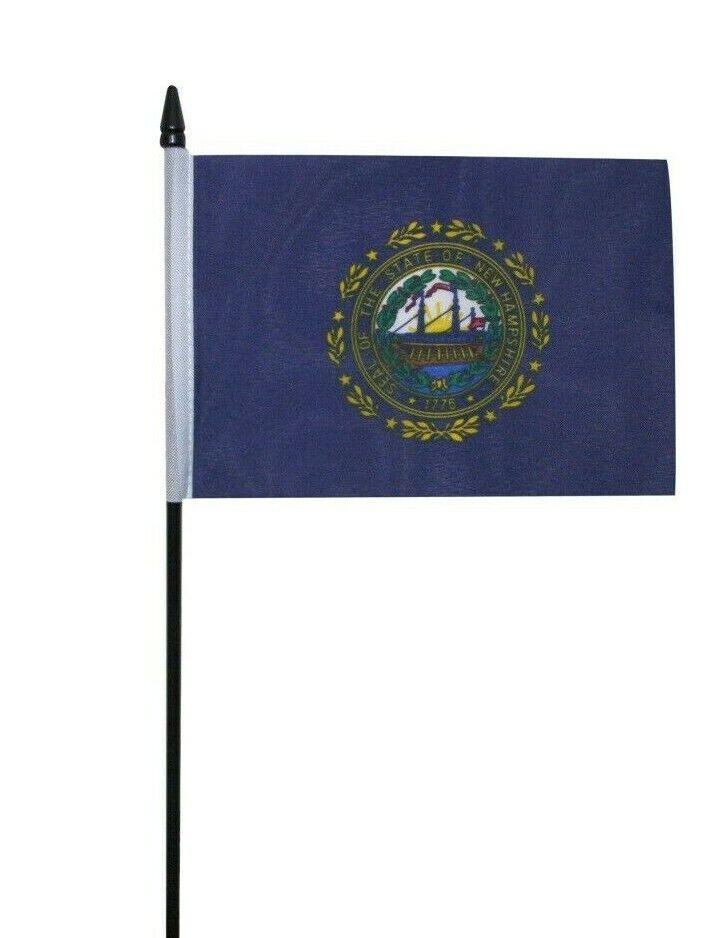 "Hampshire Small Hand Waving Flag 6/"" x 4/"""