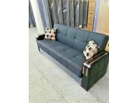 🤘🏻💓2020 WAREHOUSE SALE TURKISH DESIGN FABRIC STORAGE SOFA BEDS SETTEE BLACK BROWN GREY SOFABED