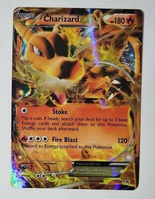 Charizard EX XY29 Black Star Pokemon Holo Rare Pokemon Card