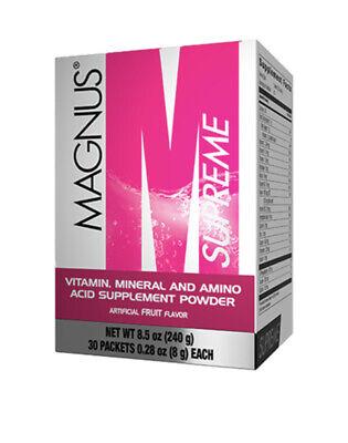 OMNILIFE Magnus Supreme Box with 30 sachets 405g *FREESHIPPING* ENERGY ENERGIA