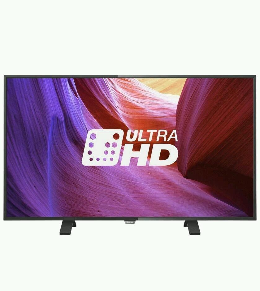 Philips 43 inch 4K Ultra HD Slim LED TV with Freeview HD   in ... 72ef0ff98ea3
