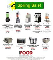 Huge Restaurant Equipment Sale