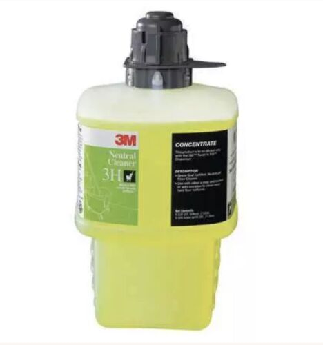 3M Neutral Floor Cleaner Concentrate Size 2L Yellow 3M 3H Bl