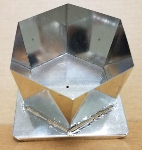 HEXAGON Candle Mold (4 inches x 3 inches Tall)