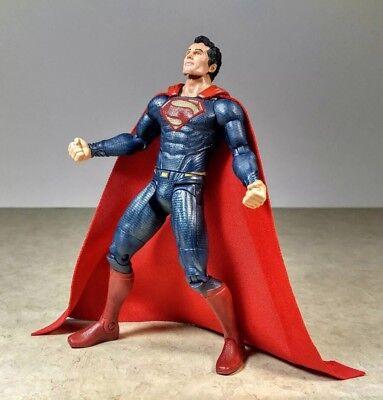 Red Superman Cape (Custom Superman Cloth Red Cape Dc Collectibles Marvel CAPE McFarlane)