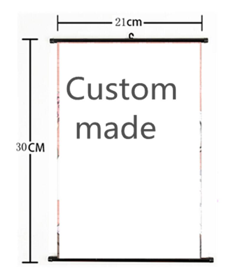 personalized custom made Anime Movie Wall scroll custom made