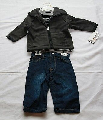 Boys Kenneth Cole 3 Piece - NWT Kenneth Cole Reaction 3 Piece Jacket Set for Toddlers Hoodie Sweat Boys