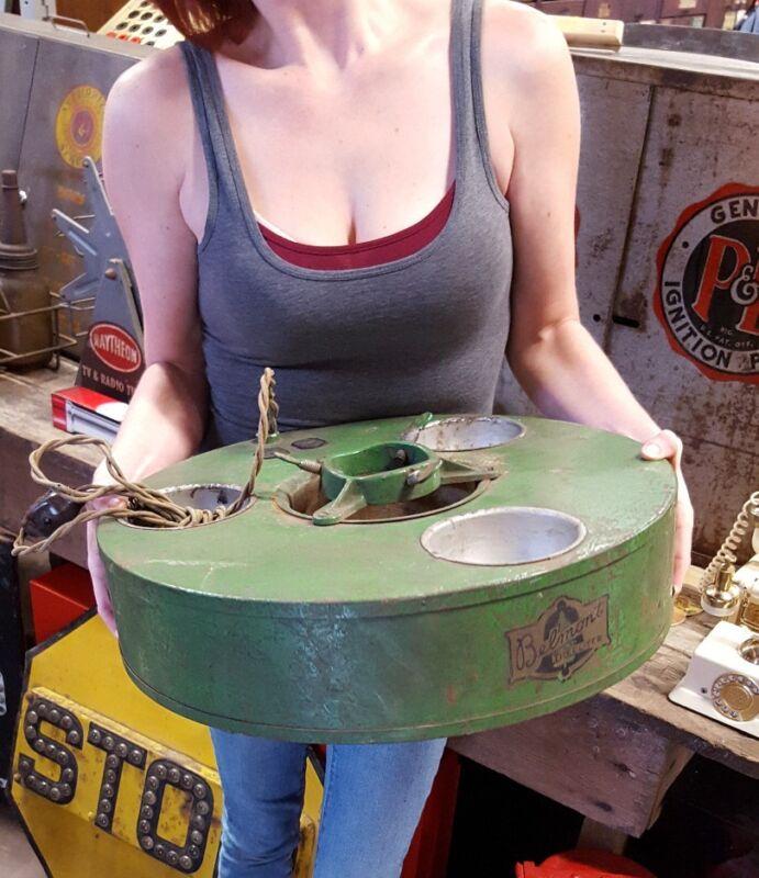 Vintage Belmont Treeliter 3 Bulb Christmas Tree Stand