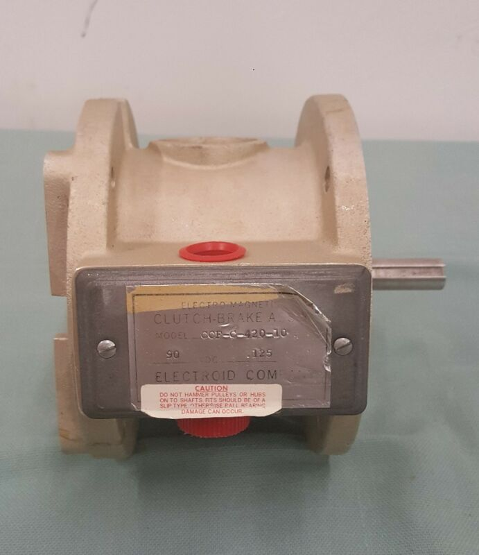 Electroid Company Electo Magnetic Cluch-Brake Ass