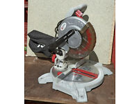 210mm 1400W Performance Power Compound Mitre Saw. 24t TCT blade. In good cond. - Little used.