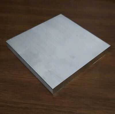 6061 Aluminum .5 X 4 X 4 Long New Solid Plate Flat Stock Bar Block 12