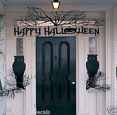 Happy Halloween #2 ~  Halloween Wall or Window