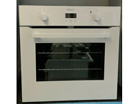 a594 white hotpoint single electric integrated oven comes with warranty can be delivered or collect