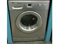a160 silver beko 7kg 1400spin A*A rated washing machine comes with warranty can be delivered
