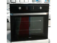 C431 black beko single electric integrated oven comes with warranty can be delivered or collected