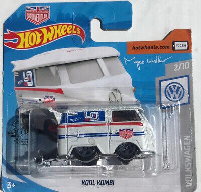Hot Wheels Magnus Walker Kool Kombi VW T1 Van WHITE #136 2019 2/10 New/sealed