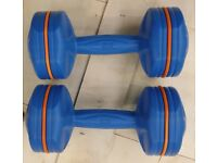 **NEW 3kg Dumbbells Weights Home Gym Fitness Exercise Workout Bicep HIIT