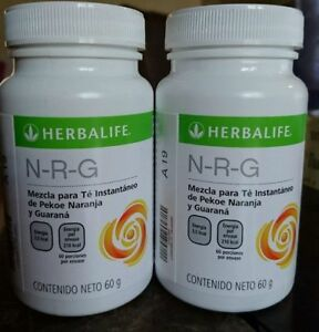 2 Bottles Herbalife NRG Tea  (60g) each. FREE SHIPPING!