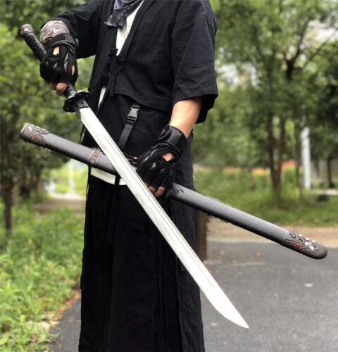 Battle Ready Broadsword Dao Sword Katana Sharp Strong High Manganese Steel Blade