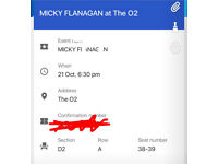 Micky Flanagan Tickets o2
