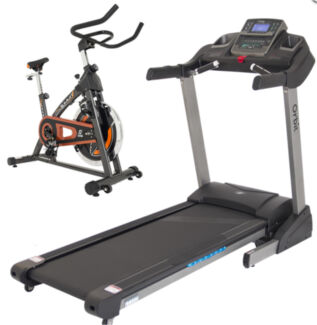 StarTrack ST35D.1 Treadmill now with FREE SPIN BIKE