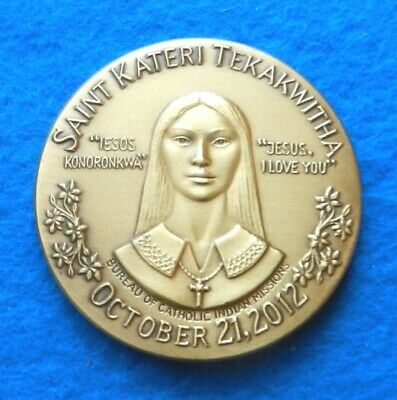 St. Kateri Tekakwitha Canonization - Garrison Garrow, Mohawk artist - Beautiful